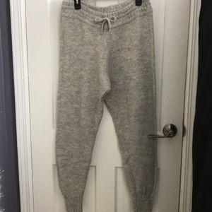 H&M Gray Wool Lounge Pants
